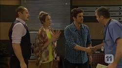 Toadie Rebecchi, Sonya Rebecchi, Jacob Holmes, Karl Kennedy in Neighbours Episode 6793