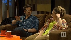 Jacob Holmes, Sonya Mitchell in Neighbours Episode 6794