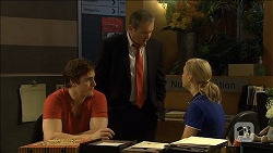 Kyle Canning, Karl Kennedy, Georgia Brooks in Neighbours Episode 6794