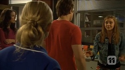 Kate Ramsay, Georgia Brooks, Kyle Canning, Gemma Reeves in Neighbours Episode 6794