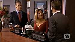 Nigel Sheppard, Terese Willis, Paul Robinson in Neighbours Episode 6794