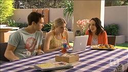Josh Willis, Amber Turner, Imogen Willis in Neighbours Episode 6796