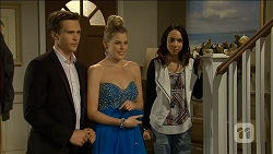 Josh Willis, Amber Turner, Imogen Willis in Neighbours Episode 6796