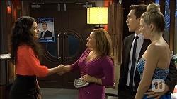 Ruby Knox, Terese Willis, Josh Willis, Amber Turner in Neighbours Episode 6796