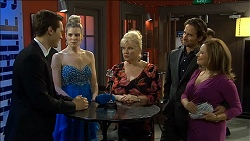 Josh Willis, Amber Turner, Sheila Canning, Brad Willis, Terese Willis in Neighbours Episode 6796