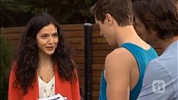 Ruby Knox, Josh Willis, Brad Willis in Neighbours Episode 6797