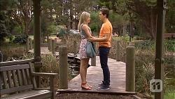 Amber Turner, Josh Willis in Neighbours Episode 6797