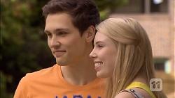 Josh Willis, Louise Flannagan in Neighbours Episode 6797