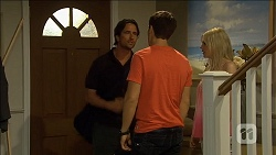 Brad Willis, Josh Willis, Amber Turner in Neighbours Episode 6798