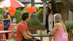 Josh Willis, Ruby Knox, Amber Turner in Neighbours Episode 6799