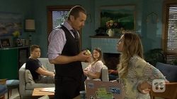 Callum Jones, Toadie Rebecchi, Josie Lamb, Sonya Mitchell in Neighbours Episode 6799