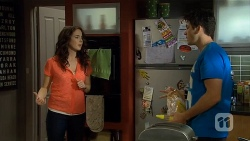 Kate Ramsay, Chris Pappas in Neighbours Episode 6799