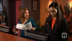 Terese Willis, Lassiter's Receptionist in Neighbours Episode 6800
