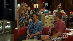 Georgia Brooks, Jacob Holmes, Toadie Rebecchi in Neighbours Episode 6800