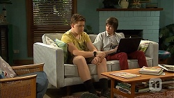 Callum Rebecchi, Bailey Turner in Neighbours Episode 6801