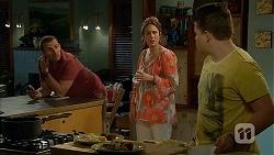 Toadie Rebecchi, Sonya Mitchell, Callum Jones in Neighbours Episode 6801
