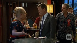 Sheila Canning, Paul Robinson, Karl Kennedy in Neighbours Episode 6801