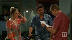 Sonya Rebecchi, Jacob Holmes, Toadie Rebecchi in Neighbours Episode 6801