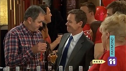 Karl Kennedy, Paul Robinson, Sheila Canning in Neighbours Episode 6802