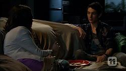 Imogen Willis, Isaac Woods in Neighbours Episode 6803