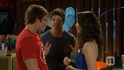Kyle Canning, Chris Pappas, Kate Ramsay in Neighbours Episode 6803