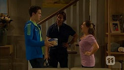 Josh Willis, Brad Willis, Terese Willis in Neighbours Episode 6804