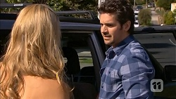 Georgia Brooks, Jacob Holmes in Neighbours Episode 6805