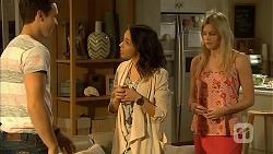 Josh Willis, Imogen Willis, Amber Turner in Neighbours Episode 6805