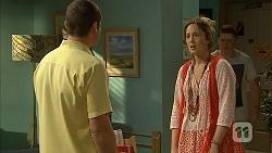 Toadie Rebecchi, Sonya Rebecchi, Callum Rebecchi in Neighbours Episode 6806