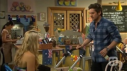 Georgia Brooks, Jacob Holmes in Neighbours Episode 6806