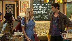 Imogen Willis, Amber Turner, Isaac Woods in Neighbours Episode 6807