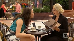 Kate Ramsay, Lucy Robinson in Neighbours Episode 6807
