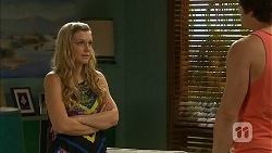 Georgia Brooks, Kyle Canning in Neighbours Episode 6807