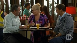 Karl Kennedy, Sheila Canning, Matt Turner in Neighbours Episode 6808