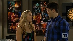 Georgia Brooks, Chris Pappas in Neighbours Episode 6809