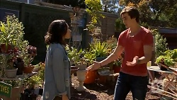 Imogen Willis, Mason Turner in Neighbours Episode 6809