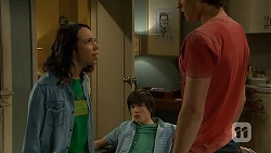 Imogen Willis, Bailey Turner, Mason Turner in Neighbours Episode 6809