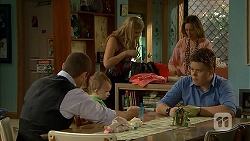 Toadie Rebecchi, Nell Rebecchi, Georgia Brooks, Sonya Mitchell, Callum Jones in Neighbours Episode 6810