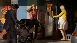 Jacob Holmes, Georgia Brooks, Pregnant Woman in Neighbours Episode 6810