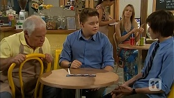 Lou Carpenter, Callum Jones, Bailey Turner in Neighbours Episode 6810