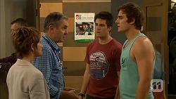 Susan Kennedy, Karl Kennedy, Chris Pappas, Kyle Canning in Neighbours Episode 6810