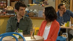 Isaac Woods, Imogen Willis in Neighbours Episode 6811