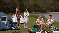 Mason Turner, Imogen Willis, Amber Turner, Josh Willis in Neighbours Episode 6812