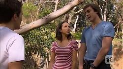 Josh Willis, Imogen Willis, Mason Turner in Neighbours Episode 6812