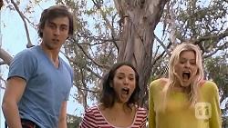 Mason Turner, Imogen Willis, Amber Turner in Neighbours Episode 6812