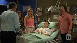 Karl Kennedy, Terese Willis, Amber Turner, Josh Willis, Brad Willis in Neighbours Episode 6813