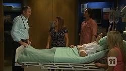Karl Kennedy, Terese Willis, Brad Willis, Josh Willis, Amber Turner in Neighbours Episode 6813