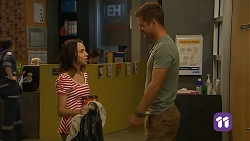 Imogen Willis, Mark Brennan in Neighbours Episode 6813