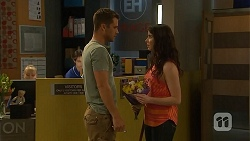Mark Brennan, Kate Ramsay in Neighbours Episode 6813