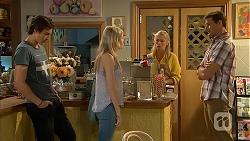 Mason Turner, Amber Turner, Lauren Turner, Matt Turner in Neighbours Episode 6814